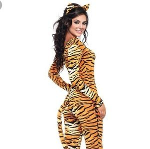 New! Leg Avenue Tigress 2 PC Costume